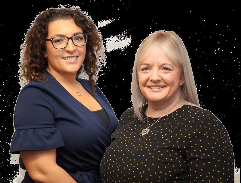 Nikki and Simone Knight & Jones Recruitment